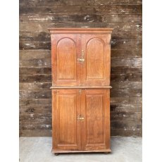 Vintage Teak Stacked Cupboard