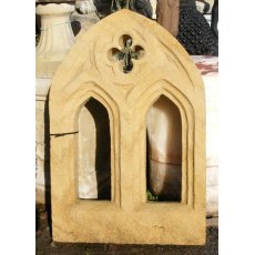 Stone Arched Gothic Window
