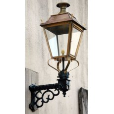 Victorian Style Lamp on Bracket