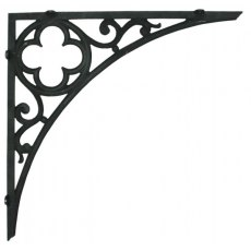 Shelf Brackets (Quatrefoil)