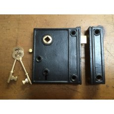 Iron Door Rim Lock