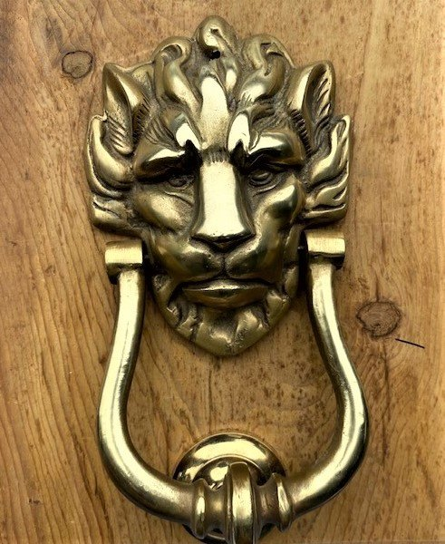 Lion Door Knocker (220mm)