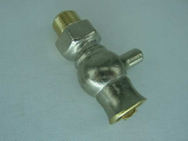 Chrome Bleed Valve