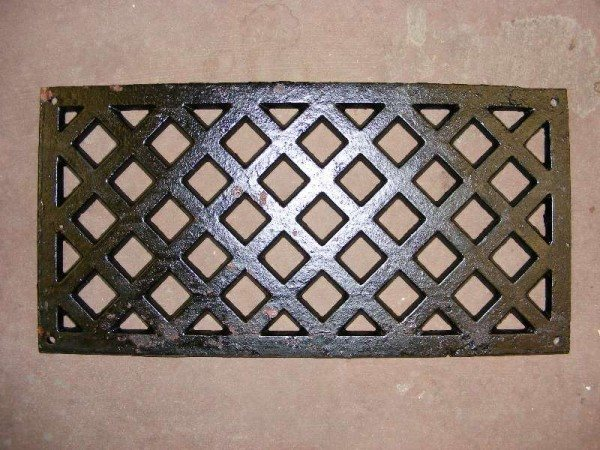 "Diamond Pattern Air Vent (12"" x 6"")"