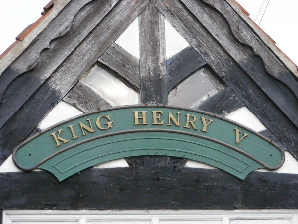 Railway Engine Name Plate (Henry V)