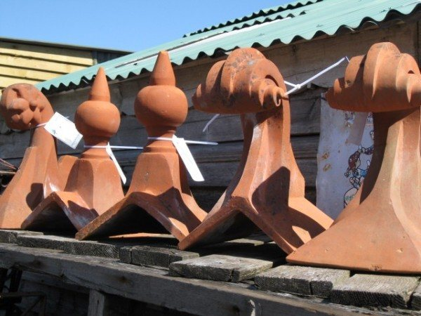 Reclaimed Roof Finials