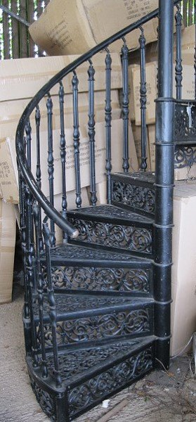 Cast Iron Spiral Staircase (Brunel)