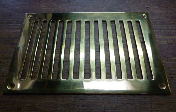 Brass Air Vent (9'' x 6'')