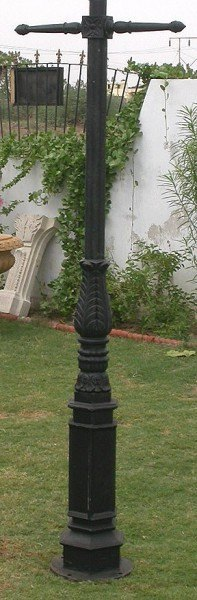 Traditional Cast Iron Lamp Post