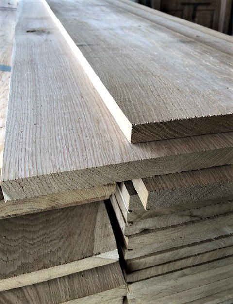 Planed Oak Flooring