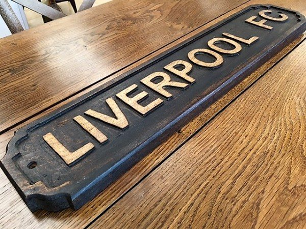 Wooden Sign (Liverpool FC) on wooden home, wooden trellis, wooden plates, wooden pedestals, wooden troughs, wooden bookends, wooden arbors, wooden bells, wooden pavers, wooden rakes, wooden bird feeders, wooden chairs, wooden garden, wooden decking, wooden bird houses, wooden toys, wooden benches, wooden plows, wooden bollards, wooden greenhouses,