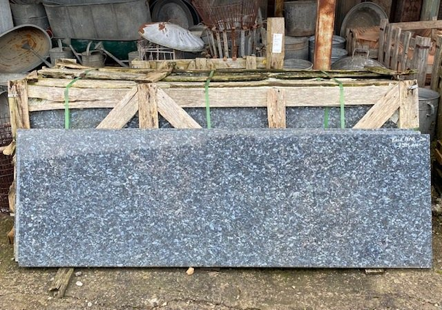 Kitchen Worktop (Blue Pearl Granite)