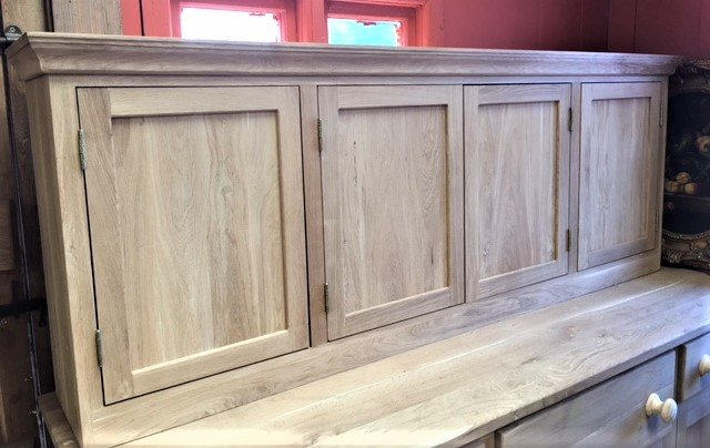 Oak 4 Door Wall Unit