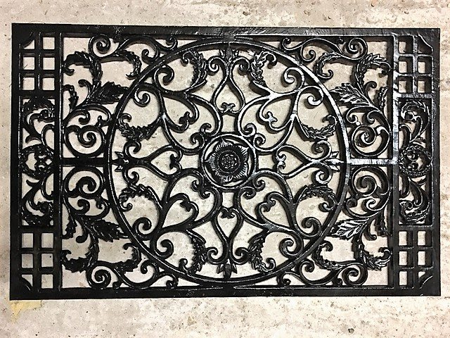 Cast Iron Door Mat (Star)