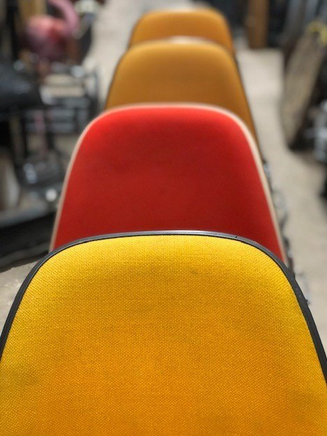 Original Eames Stacking DSS Chairs