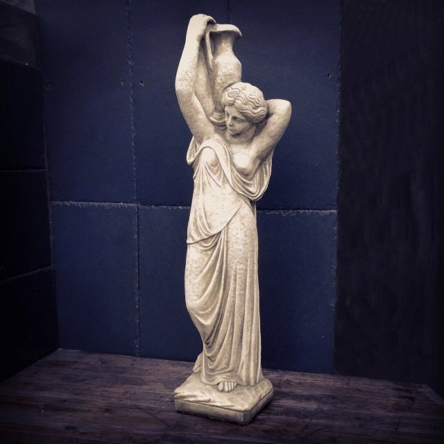 Greek Maiden Garden Statue