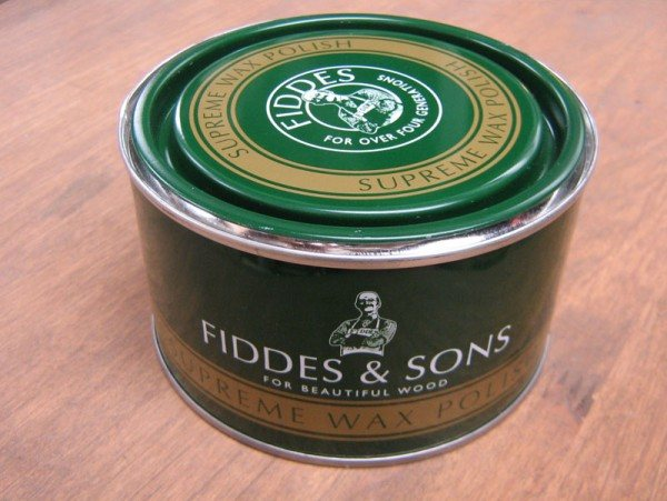 Fiddes Wax Polish (Stripped Pine 400ml)