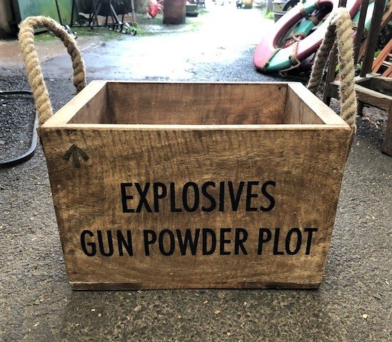 Gun Powder Plot Box