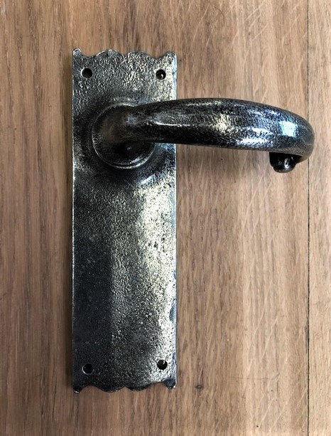 Pair of Pewter Handles (No Key Hole)