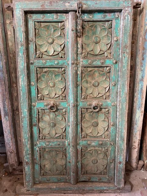 Beautiful carved framed doors