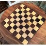 Teak Chess Table