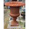 Large Traditional Cast Iron Urn (Aged)